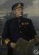 Картина А.В.Трескина с изображением вице-адмирала В.П. Дрозда